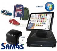 """Pack TPV Galicia Táctil SAM4S-WI """"AVANZADO"""" para Moda con Talla-Color"""