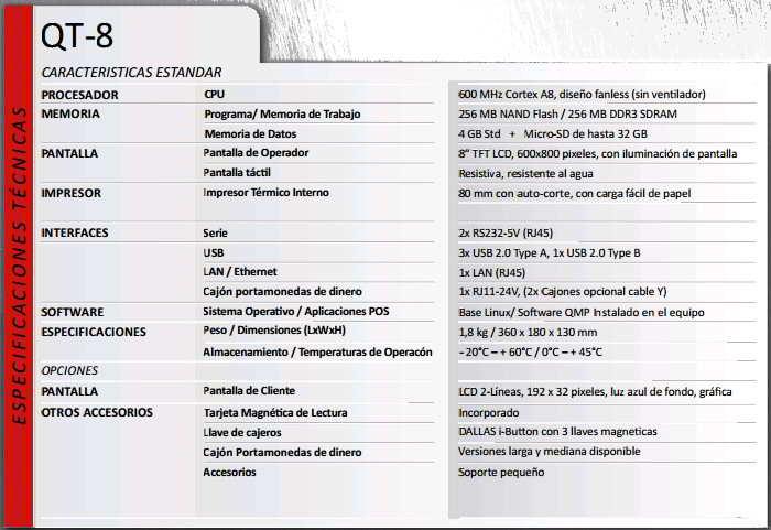 SISTEMA TPV TABLET DISEŇADO PARA PEQUEŇOS COMERCIOS Ó RESTAURANTES